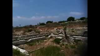 Lebanon: Tyre Ancient Ruins Al-Mina Archaeological Site Part 1