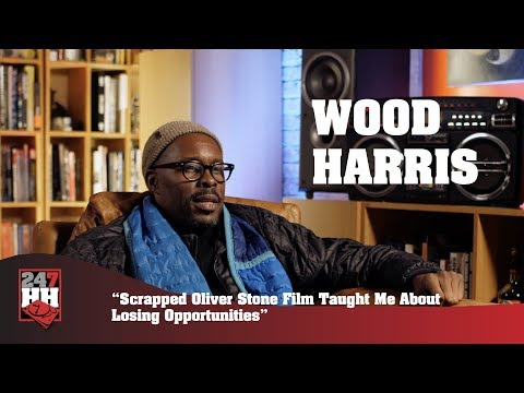 Wood Harris  Scrapped Oliver Stone Film Taught Me About Losing Opportunities 247HH Exclusive