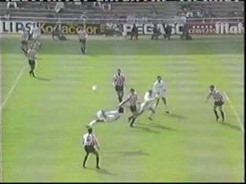HUGO SANCHEZ - Gol Real Madrid vs Logroñes (chilena)