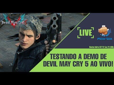 ? TESTANDO A DEMO DE DEVIL MAY CRY 5 AO VIVO! thumbnail