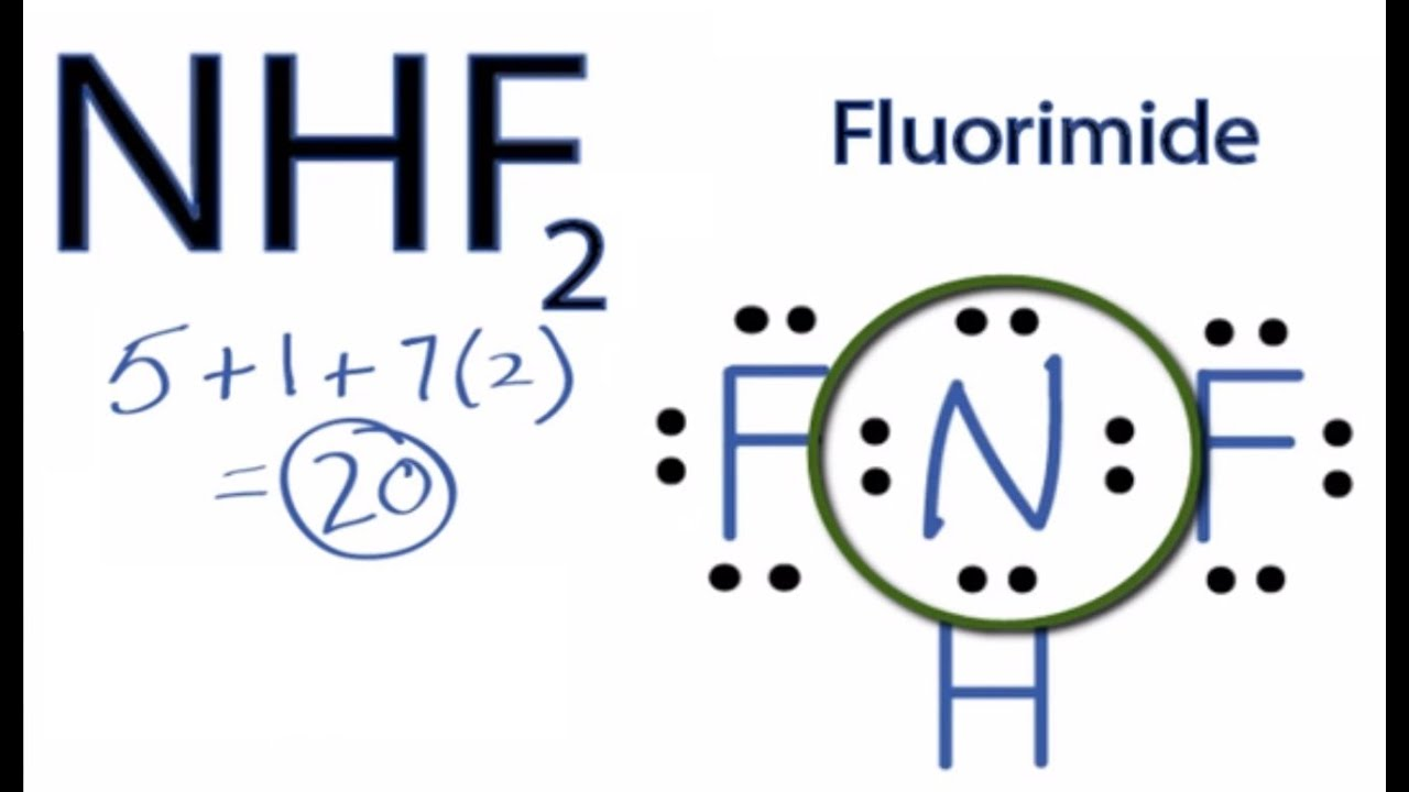 Nhf2 Lewis Structure  How To Draw The Lewis Structure For