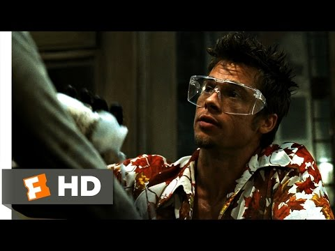 Fight Club (3/5) Movie CLIP - Chemical Burn (1999) HD