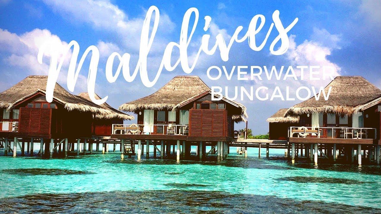 Maldives Anantara Veli Overwater Bungalow Room Tour Youtube