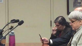 Louise Turpin WEIRD courtroom behavior.