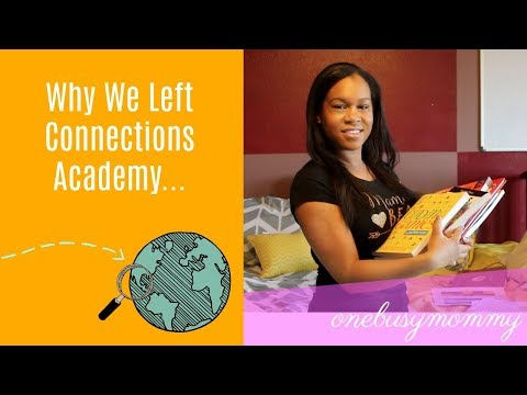Connection Academy Review Why We Left 2017 - OnebusyMommy.com