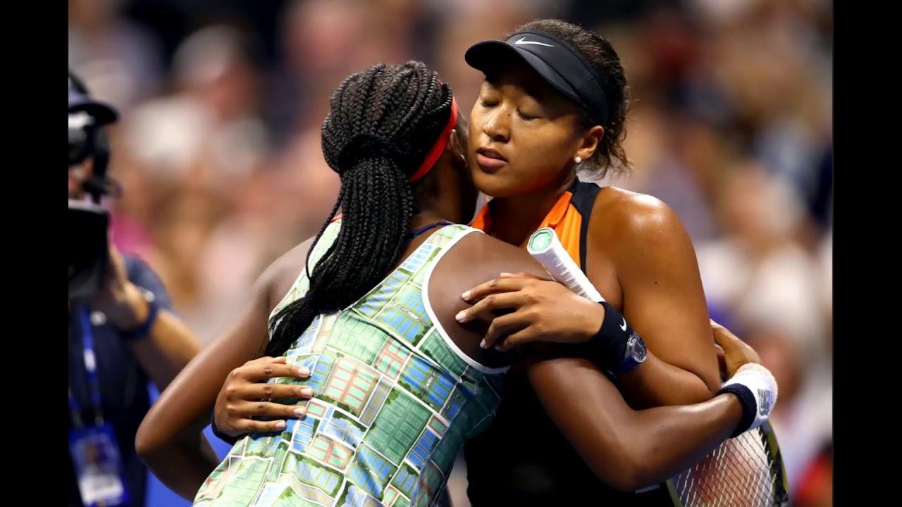 Defending champion Naomi Osaka ends Coco Gauff's US Open run, then comforts Gauff afterward