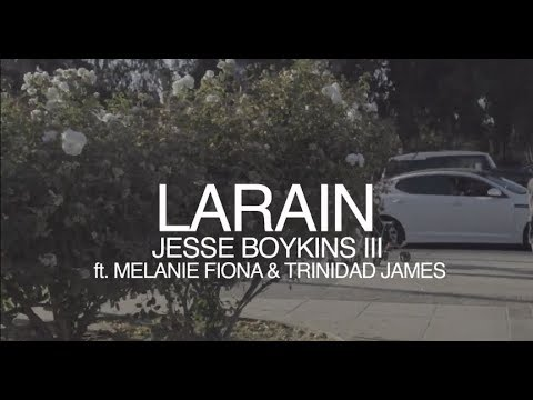 Jesse Boykins III ft. Melanie Fiona & Trinidad James - LArain (Visual Expression)