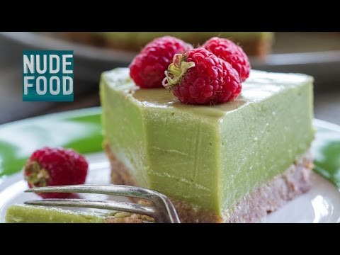 How to make Avocado, Lime and Coconut 'Cheese' Cake – dairy, gluten and refined sugar free!