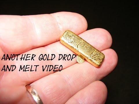 Gold Drop and Melt   1 Troy Ounce