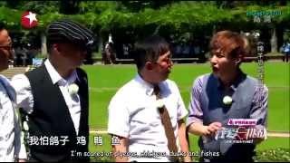 [ENGSUB] 150913 Lay VS Pigeons - Go Fighting Episode 11 BTS