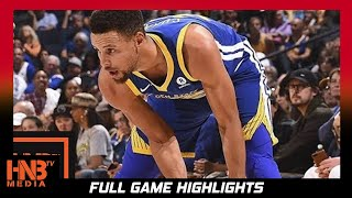 Golden State Warriors vs LA Clippers Full Game Highlights / Week 2 / 2017 NBA Season