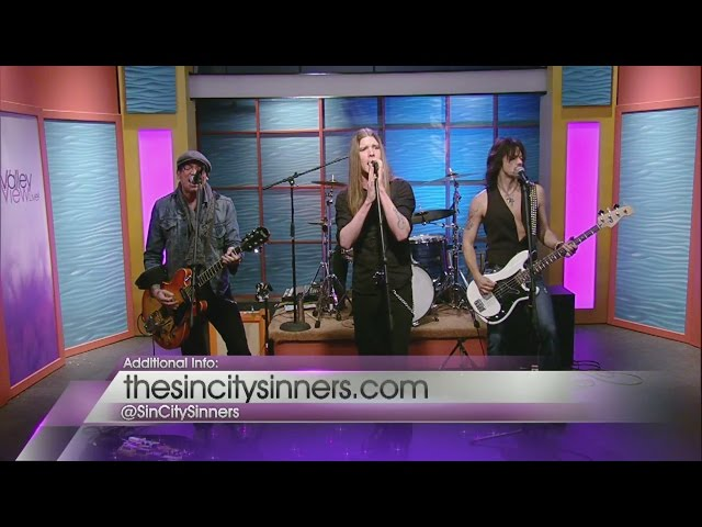 "Sinners performing ""Living Like A Sinner"" on Valley View Live"