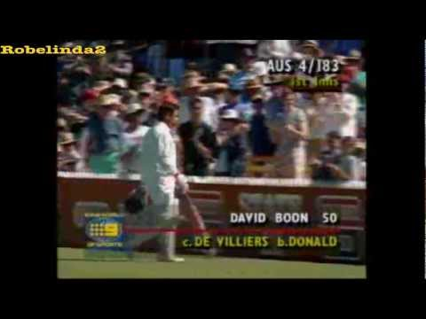 Allan Donald floors Aussies with bouncer barrage