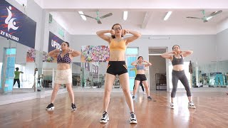 Aerobic Class Workout - Fat burning, high intensity // Amg Fitness