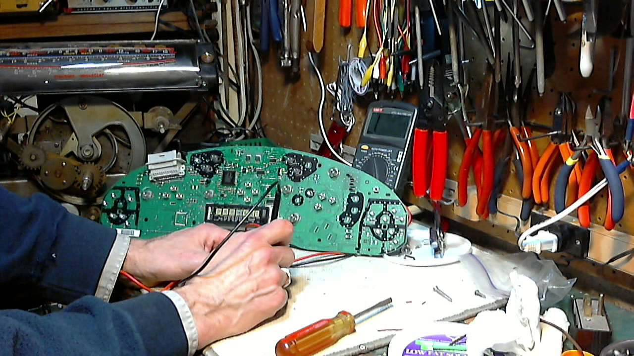 hight resolution of buick century instrument cluster repair