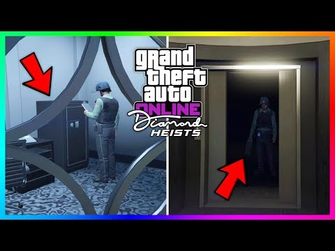 GTA 5 Online Casino Heist DLC Update – NEW INFO! Release Date, Security Guards, Announcement & MORE!