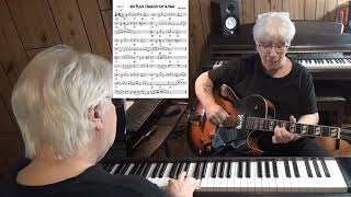 Any Place I Hang My Hat Is Home - Jazz guitar & piano cover ( Harols Arlen )