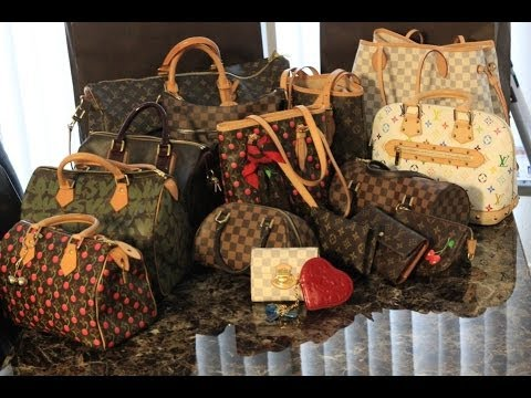 Image result for Louis Vuitton and Gucci handbags