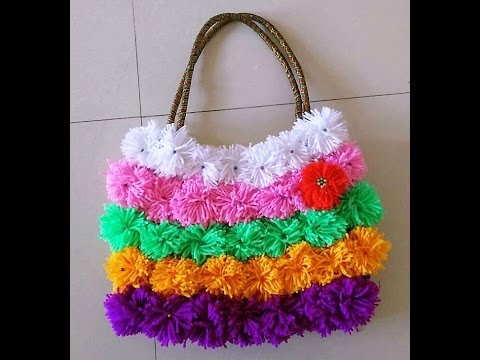Handmade Purse Best From Waste