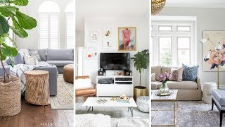 10 Small Living Room Makeover Ideas