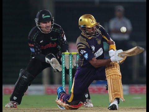 CLT 2014  Kolkata Knight Riders Vs Dolphins Highlight