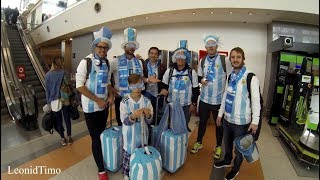 Аргентинские болельщики уезжают в Москву