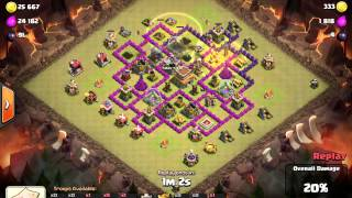 Clash of Clans - Sgt Stuart bacon rolls the base - hogs to the rescue!