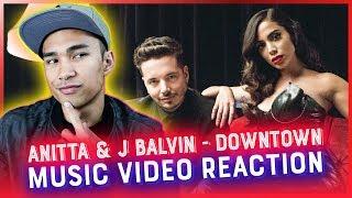 Baixar ANITTA & J BALVIN - DOWNTOWN Music Video REACTION // RWRG