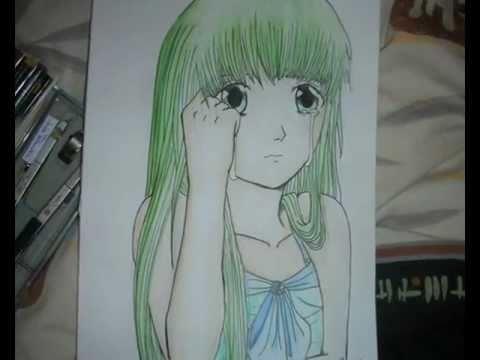 Manga colorieren  zeichnen Schritt fr Schritt  YouTube