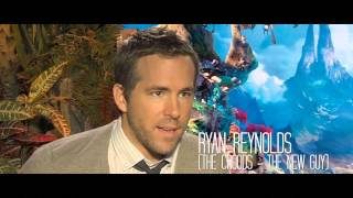 The Croods Featurette -- Emma Stone and Ryan Reynolds Interview - IN CINEMAS NOW
