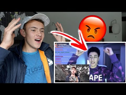 Diss God FINALLY responds to my diss track!! (HE GETS MAD AF!!!)