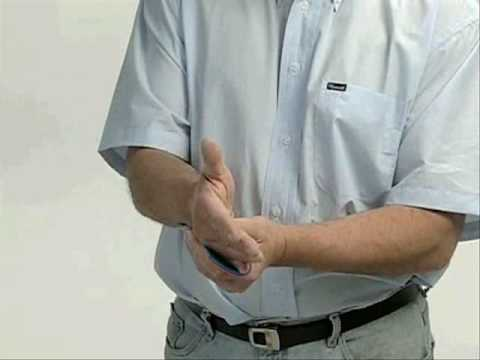 Sam Ulnar Gutter Splint Wmv Youtube