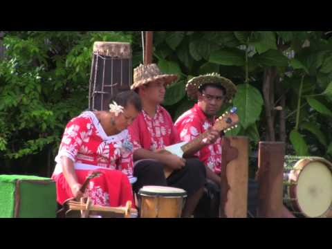 Polynesian Music with Drums Polynesian Cultural Center Hawaii