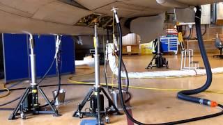 Saab JAS 39 Gripen  landing gear sequence part 2