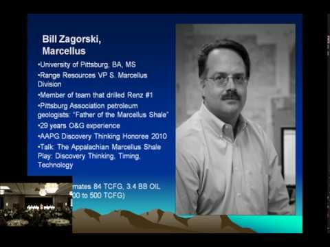 Bill Zagorski- 2012 GeoLegends The Marcellus Shale