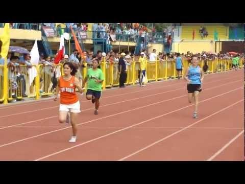100 meters (17 seconds)