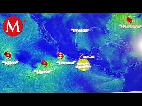'Lorena' se intensificará a huracán 1; tocará tierra en Jalisco y Colima