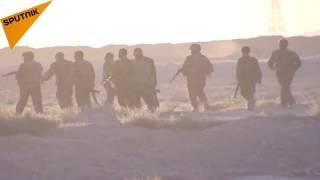 بالفيديو...الجيش السوري يتقدم في البادية ويفاجئ