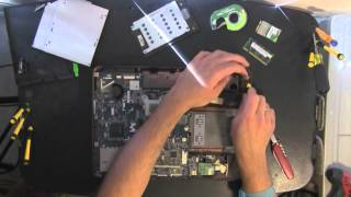 ACER ASPIRE 4730Z take apart video, disassemble, how to open disassembly