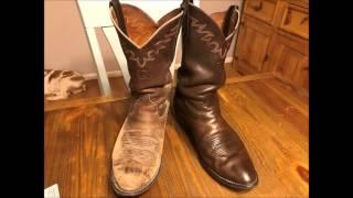 Restoring Cowboy Boots