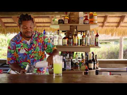 Coconut Love Cocktail at Coconut Bay Beach Resort & Spa in St. Lucia