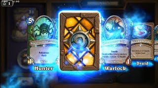 Nightscale Matriarch + Bewitched Guardian - The Witchwood Hearthstone rare card pack opening