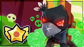 I unlocked CROWS STAR POWER and he became Toxic ???? Brawl Stars