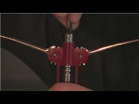 Wine Advice : How to Open Wine With a Lever Opener