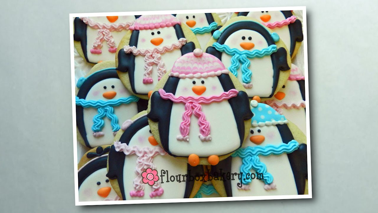 How To Decorate A Chilly Penguin Cookie