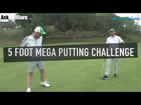 5 Foot Mega Putting Challenge