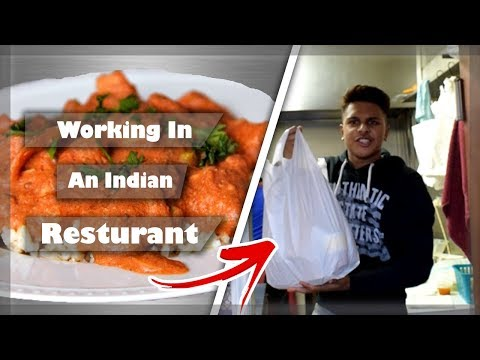 WORKING IN AN INDIAN TAKEAWAY | My Life At Work
