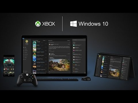 Xbox on Windows 10 Demonstration