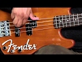 Fender Deluxe Active Precision Bass Special Okoume Demo | Fender