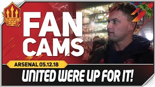 UNITED WERE UP FOR IT! Manchester United 2-2 Arsenal Fancam